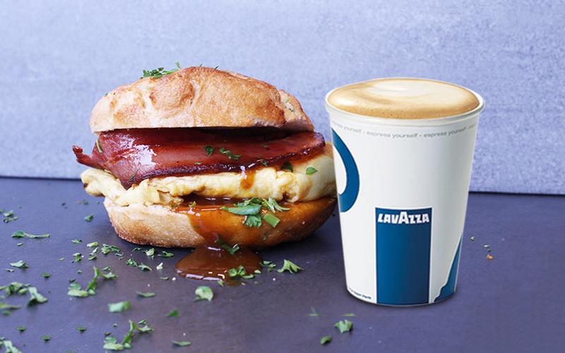 Tony's ontbijt deal american