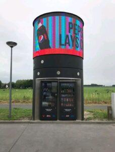 Tony's Tower innovatieve vending oplossing