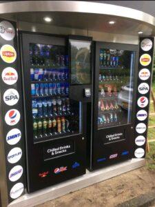 Tony's tower vending